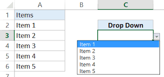 Creating A Dependent Drop Down List In Excel Step By Step