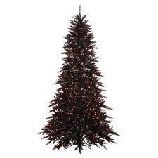 Vickerman 6 5 Black Fir Artificial Christmas Tree With 600