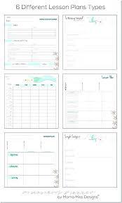 Free Editable Lesson Plan Template Unique K Teacher Book C Array
