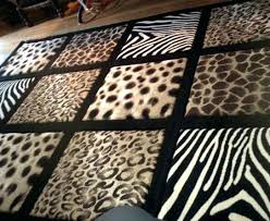 animal print rug runners animal print rugs large area rug with leopard zebra cheetah 4 ft