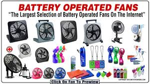 fan with battery. collection of battery operated fans fan with a