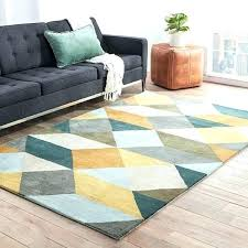 area rug 9 x 13 rugs outdoor handmade geometric gold teal
