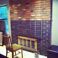 concrete stain on brick house bedroom and living room image