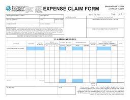 Expense Reimbursement Form Templates 4 Expense Receipt Templates Free Sample Example Format