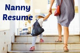 applying for nanny jobs sample nanny resume