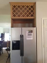 Above Refrigerator Wine Rack etrevusurleweb