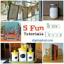 Small Picture Fun Home Decor Ideas Home Decor Ideas Cute Mason Crafts Creative
