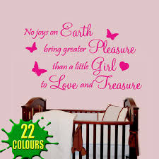 baby girl nursery wall quotes quotesgram