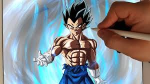 Drawing Limit Breaker Vegeta Vegeta S New Form Dragon Ball