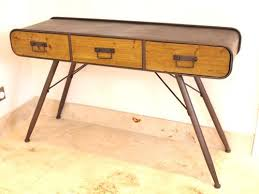 vintage office table. Vintage Industrial Urban Office Desk Table E