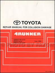 2005 toyota 4runner wiring diagram manual original 2003 2009 toyota 4runner body collision repair shop manual original