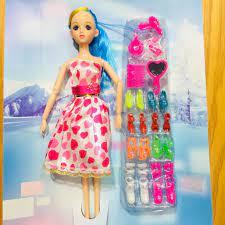 Búp bê váy tim xinh đẹp cho bé - Búp bê Thương hiệu OEM