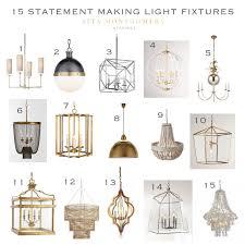 statement lighting. 15 Statement Making Light Fixtures - Sita Montgomery Interiors . Lighting R