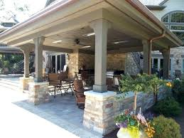 covered outdoor living spaces s pictures decorating rustic