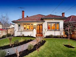 Small Picture californian bungalow house exterior with porch landscaped garden