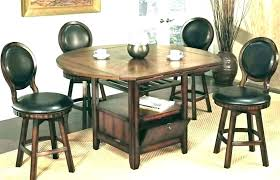 small pub table set 5 piece black b table set small round sets bistro style and