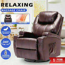 Leather <b>Massage Chair</b> Chairs for sale | Shop with Afterpay | eBay