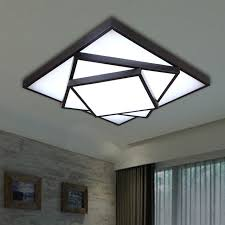 diy ceiling lighting. Square Led Ceiling Light Modern Brief DIY Lamp Dimming Lighting For Bedroom Study Room Diy H