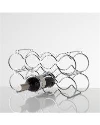 chrome wine rack. Interesting Rack Torre U0026 Tagus 920097A Eight Bottle Stacking Wine Rack Chrome Intended Rack