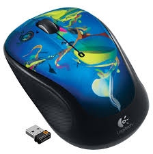 Logitech M325 Wireless Optical Mouse Light Silver Logitech M325 Wireless Mouse With Designed For Web Scrolling