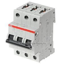 К6151. <b>Автоматический выключатель S203</b> C63А/3п/ 6,0кА на Din ...