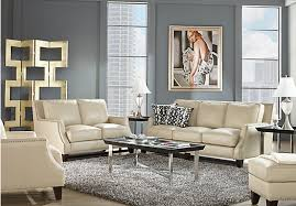 beige leather sofa. Picture Of Sofia Vergara Bal Harbour 2 Pc Beige Leather Living Room From Sets Sofa