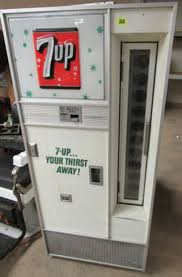 Vintage 7up Vending Machine For Sale