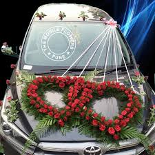Flower Decoration Design Car Decoration For Marriage Car Decoration For Wedding In Pune 17