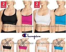 Champion Womens Seamless Criss Cross Sports Bra 2 Pack