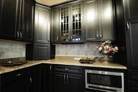 Dark Kitchen Kitchens On Pinterest Dark Cabinets Modern Retro Kitchen And