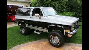 $29,995 Lifted 1989 Chevrolet Blazer For Sale~AMAZING CONDITION ...