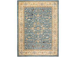 safavieh austin rectangular light blue cream area rug