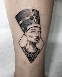 Egyptian Queen Nefertiti Tattoo Meaning