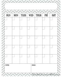 Printable Daily Planner Template Monthly Fitness Calendar