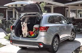 2018 mitsubishi vehicles. fine mitsubishi open liftgate of 2018 mitsubishi outlander to mitsubishi vehicles