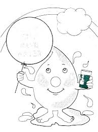 Water Cycle Printable Coloring Page Water Cycle Coloring Page Water