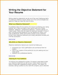 good summary for resume resume opening statement examples good summary bobmoss basic