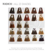 Radico Hair Color Chart Radico Colour Me Organic Hair Colour