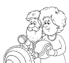 Opa En Oma Kleurplaten Met Baby