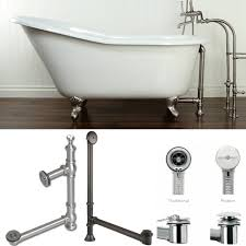 plumbing how to drain a free standing bathtub home improvement also