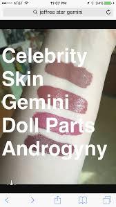 Jeffree Star Celebrity Skin Gemini Doll Parts Androgyny