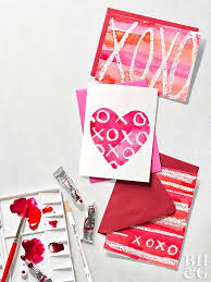 valentines days cards 27 easy diy valentines anyone can make better homes gardens