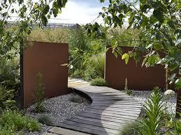 corten steel garden products superb
