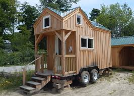 tiny house on wheels for sale. 8x16 Tiny House On Wheels - Exterior For Sale O