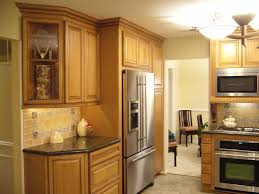 Kitchen Design U2014 Interior Exterior Homie : How To Repair Kraftmaid ...  Image Of: Kraftmaid Kitchen Cabinets Color Red