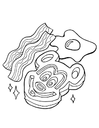 These coloring pages are the perfect makings for an afternoon full of fun. Free Disney Food Coloring Pages Rebecca Smith