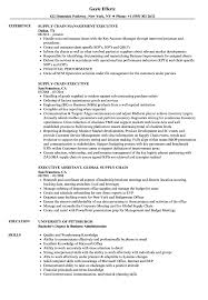 Supply Chain Management Resume Sample Siamclouds Com Inside