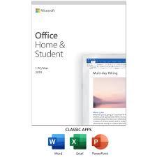Microsoft Office Home And Student 2019 1 Device Windows 10 Pc Mac Key Card Walmart Com