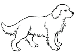 Dog Coloring Pages For Kids Coloring