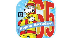 sparky the fire dog. sparky the fire dog turns 65! g